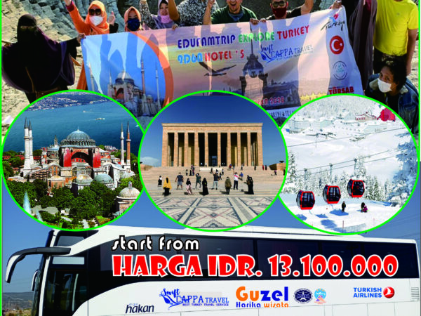 WINTER TURKEY 10 HARI 7 MALAM 2021
